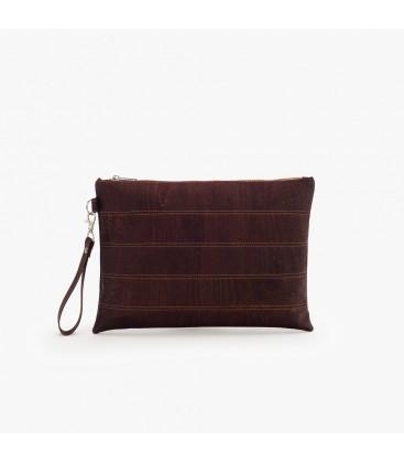 Clutch Taske af kork - Brun