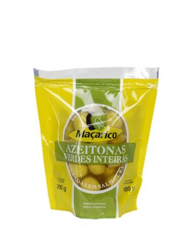 Grønne oliven med sten - Maçarico