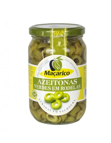 Grønne oliven i skiver - Maçarico