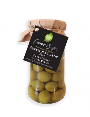 Grønne oliven m/ sten - Campos Santos
