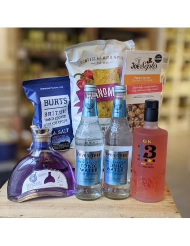 Smagskasse - Gin, tonic og snacks