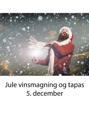 Jule vinsmagning og tapas, Aalborg -...
