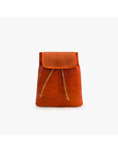Rygsæk taske af kork - Orange