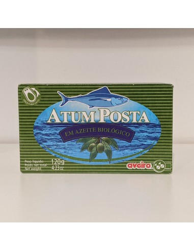 Tun stykker i økologisk ekstra jomfru olivenolie - Aveiro