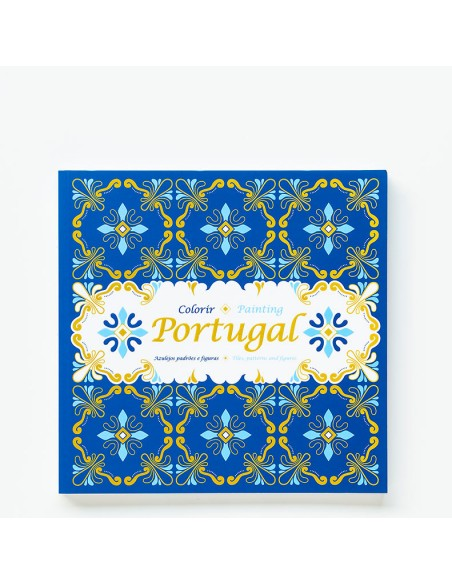 """Malebog, """"Farvelæg Portugal"""""""