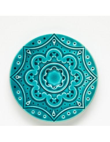 """Coaster / Kakkel """"Azulejo"""", Blå"""