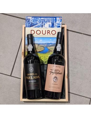 Hyggekit: Bog om Douro + 2 Portvine