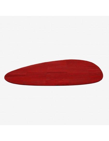 Dække serviet - Kork, Bordeaux rød