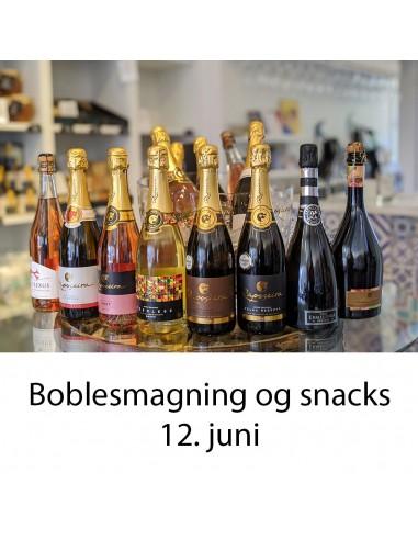 Boblesmagning og snacks, Aalborg  - 12. juni