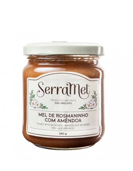 Cremet honning med mandler - Serramel