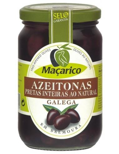 Macarico Galega oliven med sten, let modnet