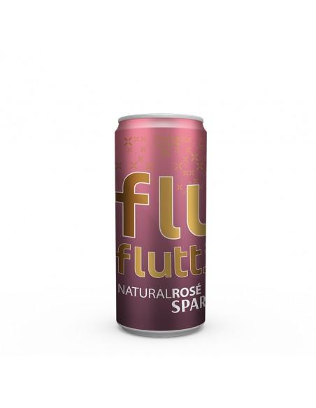Flutt Semi Sparkling Rosé - PositiveWine