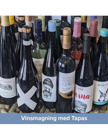 Vinsmagning og Tapas, Aalborg - 1. oktober 2021