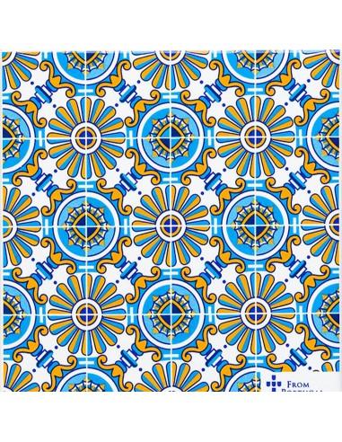 Azulejo, Kakkel 3
