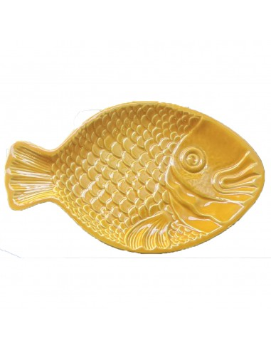 Fiske Fad, Gul - Duro