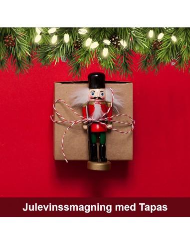 Jule vinsmagning og tapas, Aalborg -11. december 2021