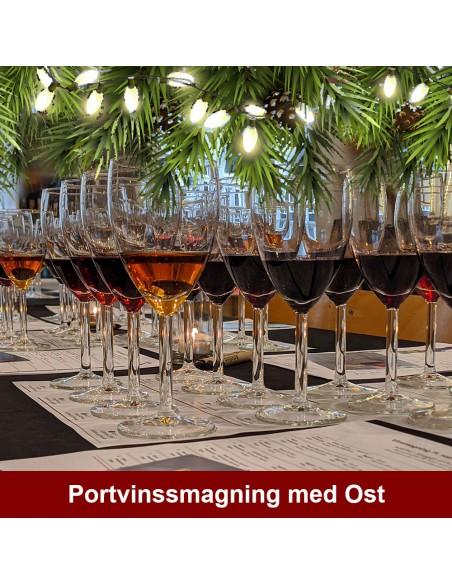 Portvinssmagning og Ost, Aalborg  - 26. november 2021