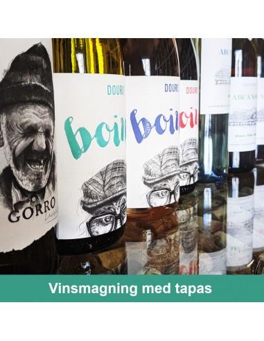 Vinsmagning og Tapas, Aalborg - 18. november 2021